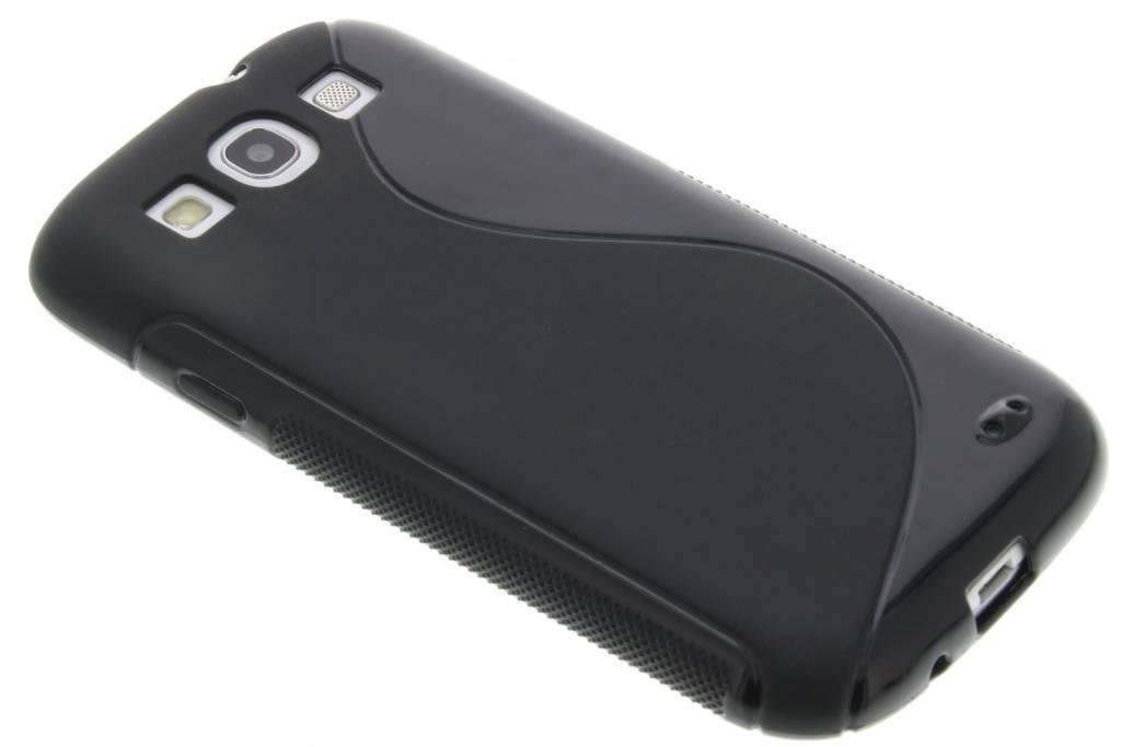 Ligne De Noir Le Cas De Tpu Flexible Pour Samsung Galaxy S3 / Neo Z3nKVR8od
