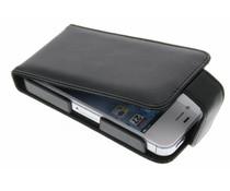 Zwart stijlvolle flipcase iPhone 4 / 4s