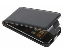 Zwart luxe flipcase iPod Touch 4g