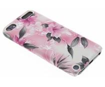 Roze bloemen hardcase hoesje iPod Touch 5g / 6