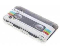 Cassettebandje hardcase hoesje Galaxy Ace