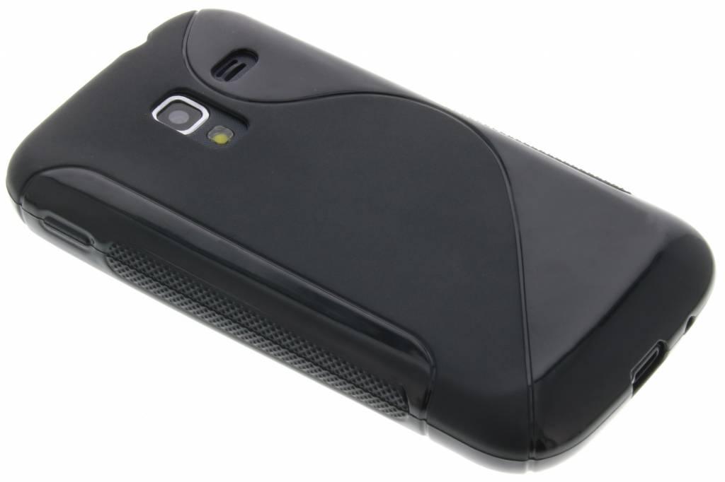 Zwart S-line flexibel TPU hoesje voor Samsung Galaxy Ace 2 i8160