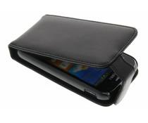 Zwart stijlvolle flipcase Samsung Galaxy Ace 2
