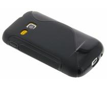 Zwart S-line TPU hoesje Samsung Galaxy Mini 2