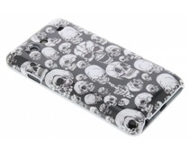 Skull hardcase hoesje Galaxy S Advance