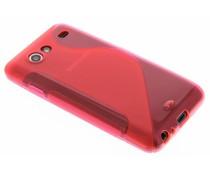 Rosé S-line TPU hoesje Samsung Galaxy S Advance