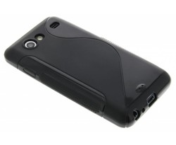 Zwart S-line TPU hoesje Samsung Galaxy S Advance