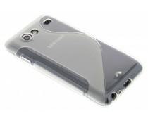 Transparant S-line TPU hoesje Samsung Galaxy S Advance