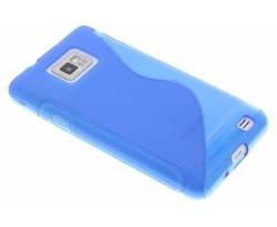 Blauw S-line TPU hoesje Samsung Galaxy S2 (Plus)