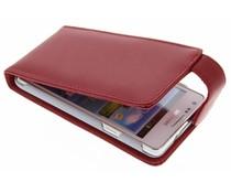 Rood stijlvolle flipcase Samsung Galaxy S2 (Plus)