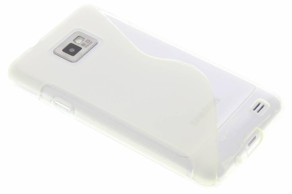 Transparant S-line TPU hoesje voor de Samsung Galaxy S2 (Plus)