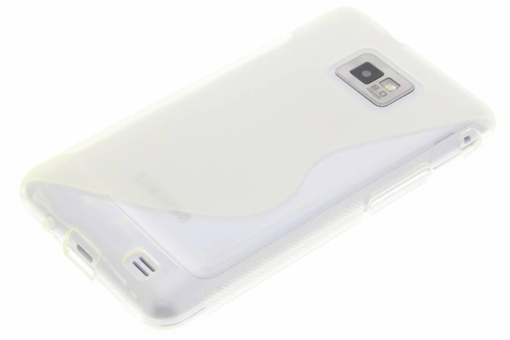 Ligne De Pourpre Tpu Cas Pour Samsung Galaxy S2 (plus) 404zAwMMT