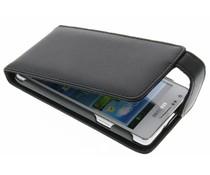 Zwart stijlvolle flipcase Samsung Galaxy S2 (Plus)