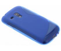 Blauw S-line TPU hoesje Galaxy S3 Mini