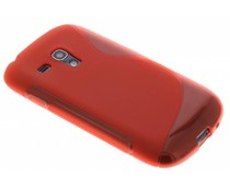 Rood S-line TPU hoesje Galaxy S3 Mini