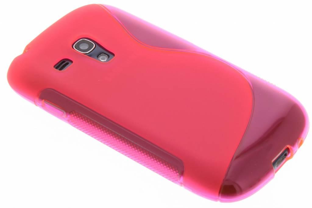 Rosé S-line flexibel TPU hoesje voor Samsung Galaxy S3 Mini i8190