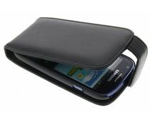 Zwart stijlvolle flipcase Samsung Galaxy S3 Mini