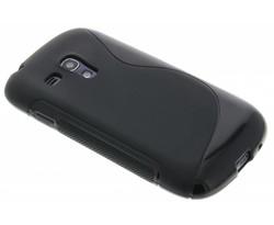 Zwart S-line TPU hoesje Galaxy S3 Mini