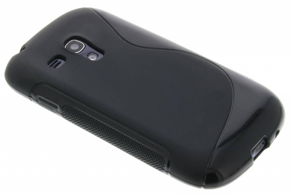 Zwart S-line flexibel TPU hoesje voor Samsung Galaxy S3 Mini i8190