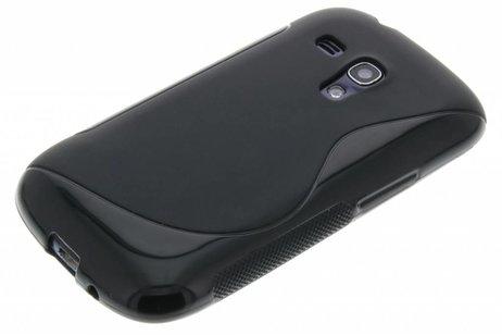 Ligne De Noir Le Cas De Tpu Flexible Pour Samsung Galaxy S3 / Neo RxfnVEz