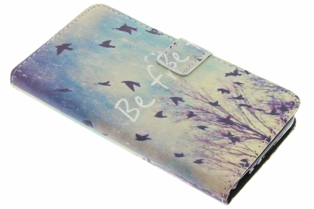Be free design TPU booktype hoes voor de Huawei GR3 / P8 Lite Smart