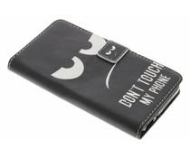 Design TPU booktype hoes Huawei GR3 / P8 Lite Smart
