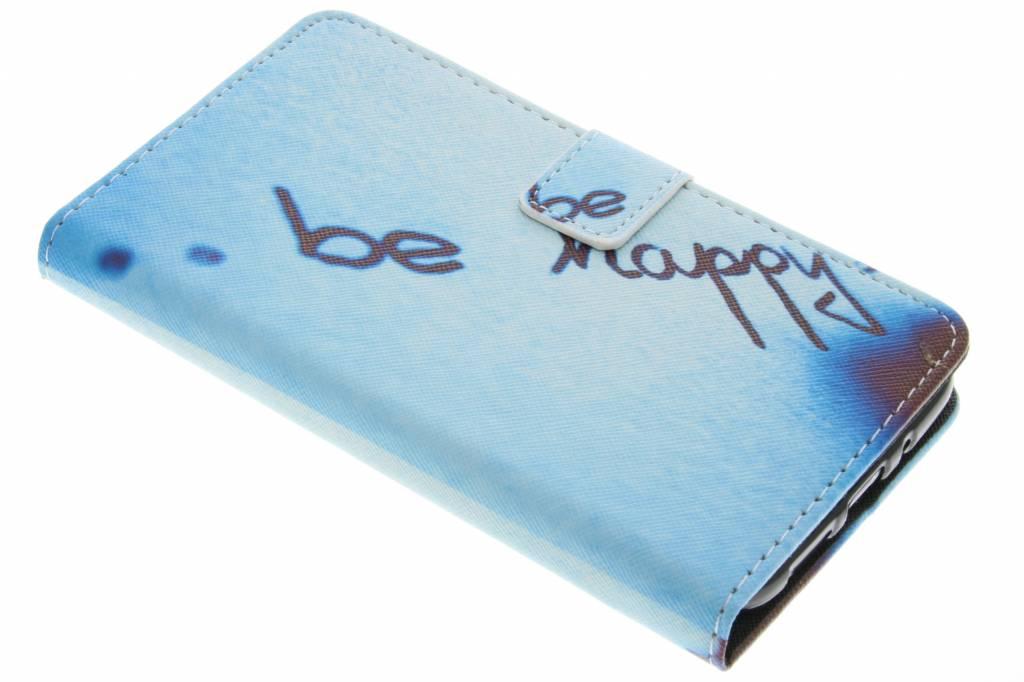 Be happy design TPU booktype hoes voor de LG G5 (SE)