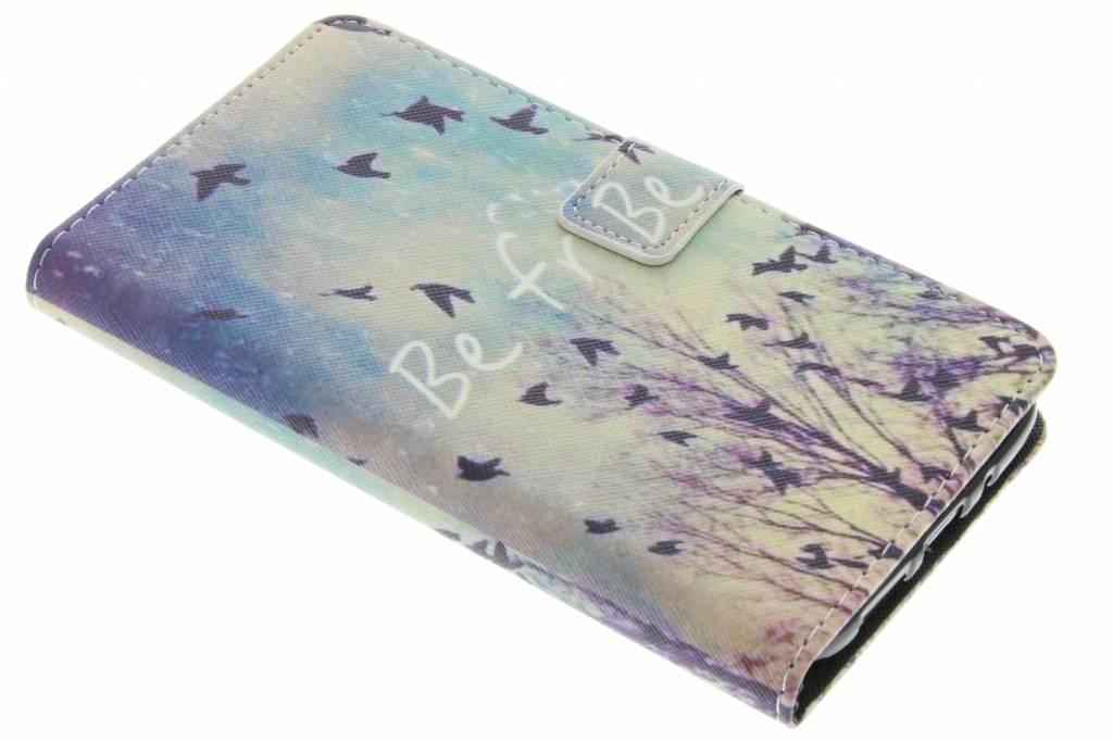Be free design TPU booktype hoes voor de LG G5 (SE)