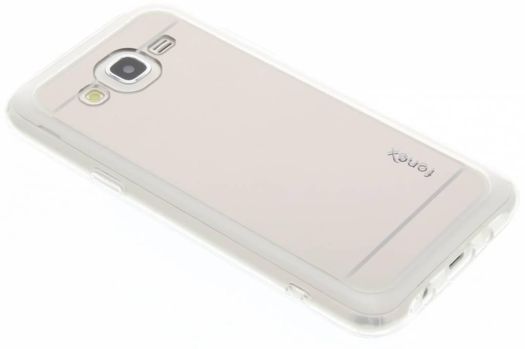 Fonex Mirror Vanity TPU Case voor de Samsung Galaxy J5 - Zilver