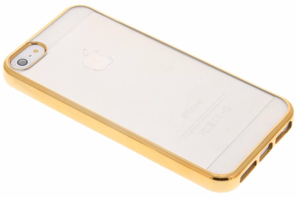 Fonex Sparkling Soft Case voor de iPhone 5 / 5s / SE - Goud