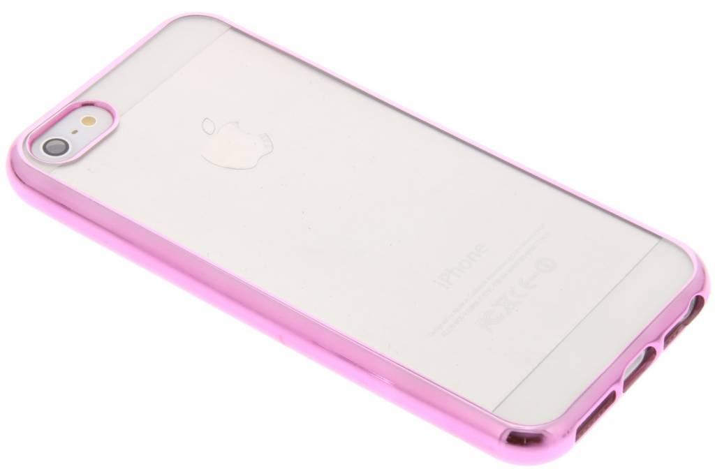 Fonex Sparkling Soft Case voor de iPhone 5 / 5s / SE - Roze