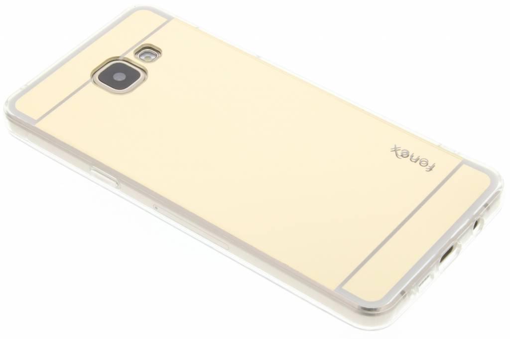 Fonex Mirror Vanity TPU Case voor de Samsung Galaxy A5 (2016) - Goud