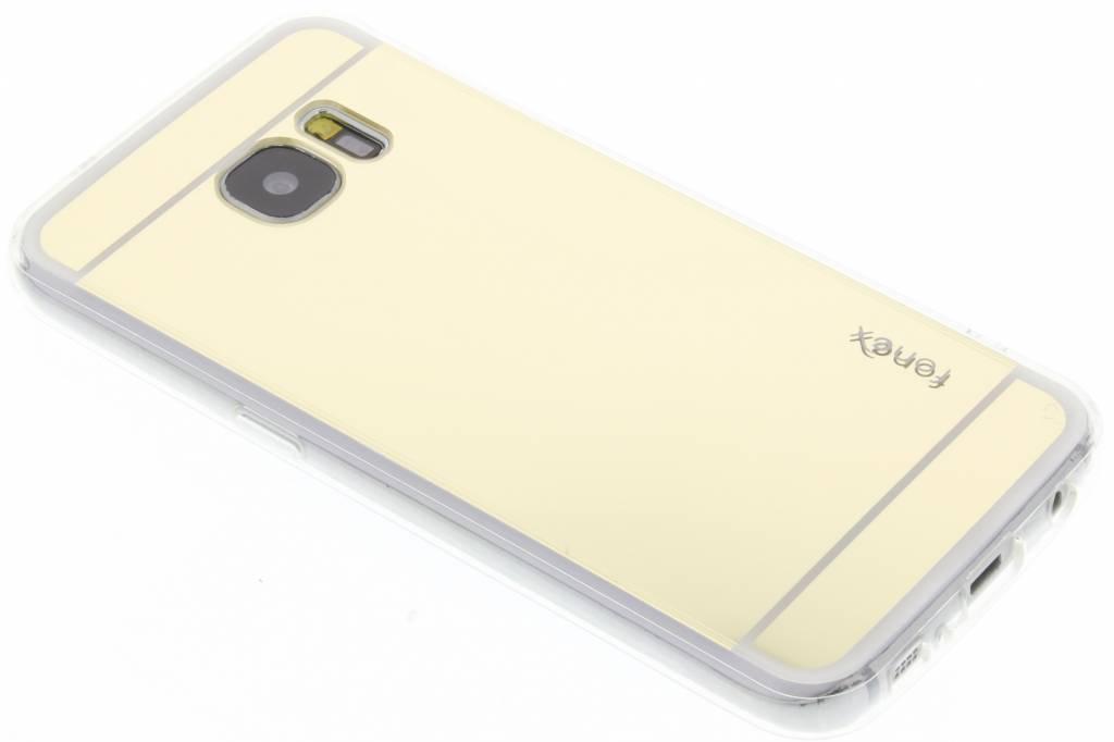 Fonex Mirror Vanity TPU Case voor de Samsung Galaxy S7 - Goud