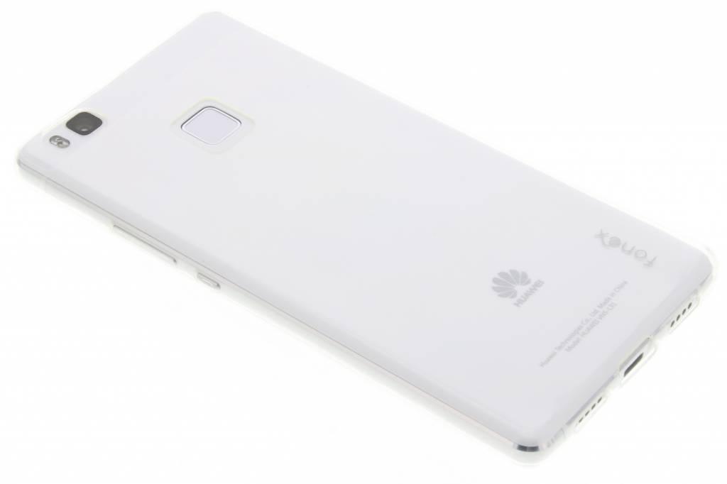 Fonex Pixel TPU Case voor de Huawei P9 Lite - Transparant