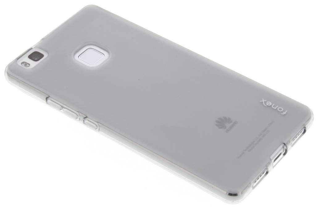 Fonex Pixel TPU Case voor de Huawei P9 Lite - Grijs
