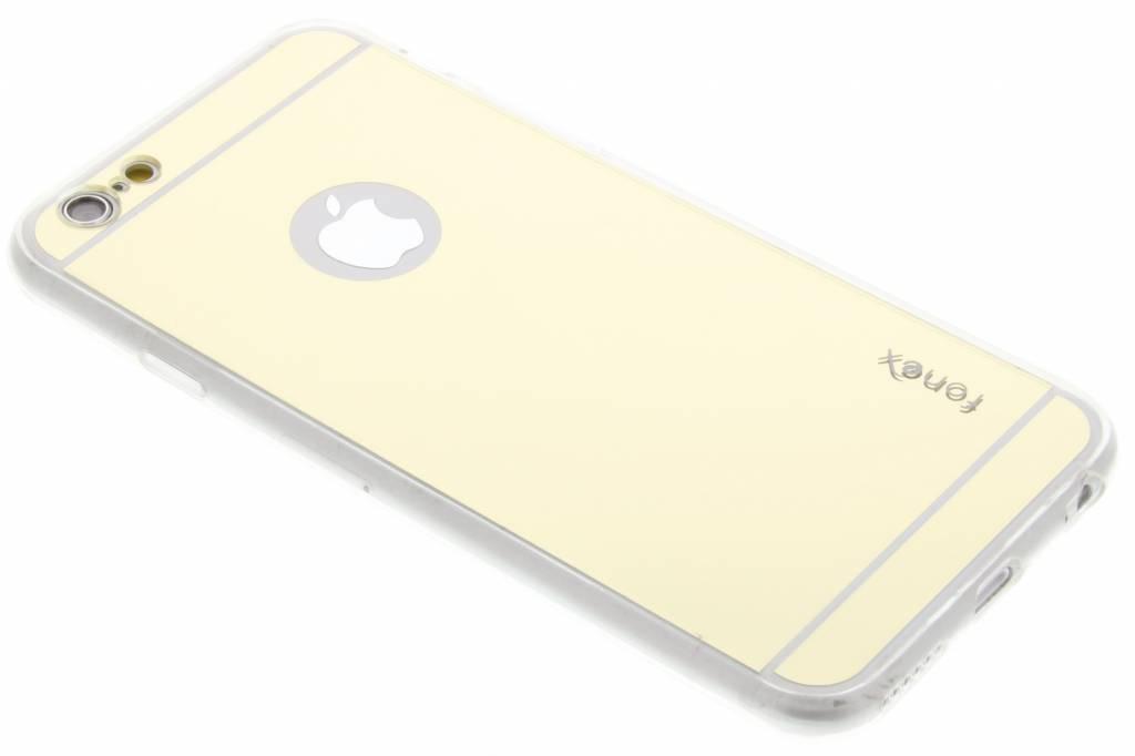Fonex Mirror Vanity TPU Case voor de iPhone 6 / 6s - Goud