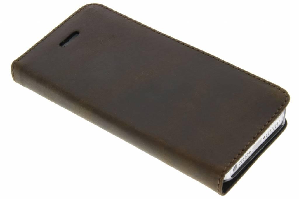 Valenta Booklet Classic Style voor de iPhone 5 / 5s / SE - Vintage Brown
