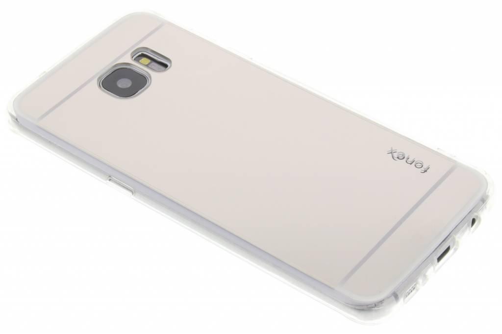 Fonex Mirror Vanity TPU Case voor de Samsung Galaxy S7 - Zilver