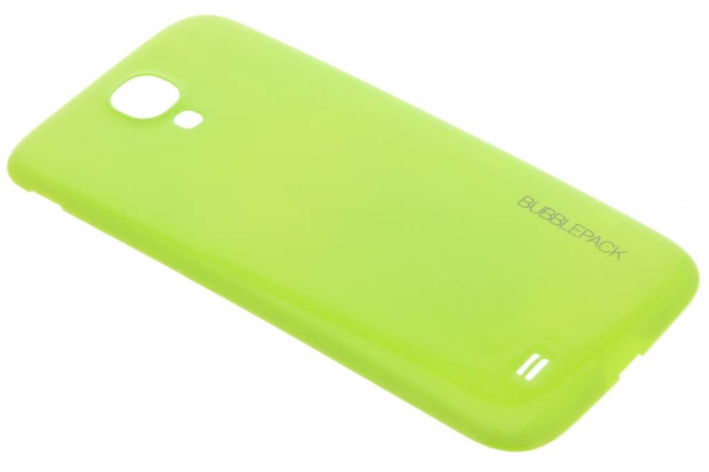 Groene bubblepack batterij cover voor de Samsung Galaxy S4