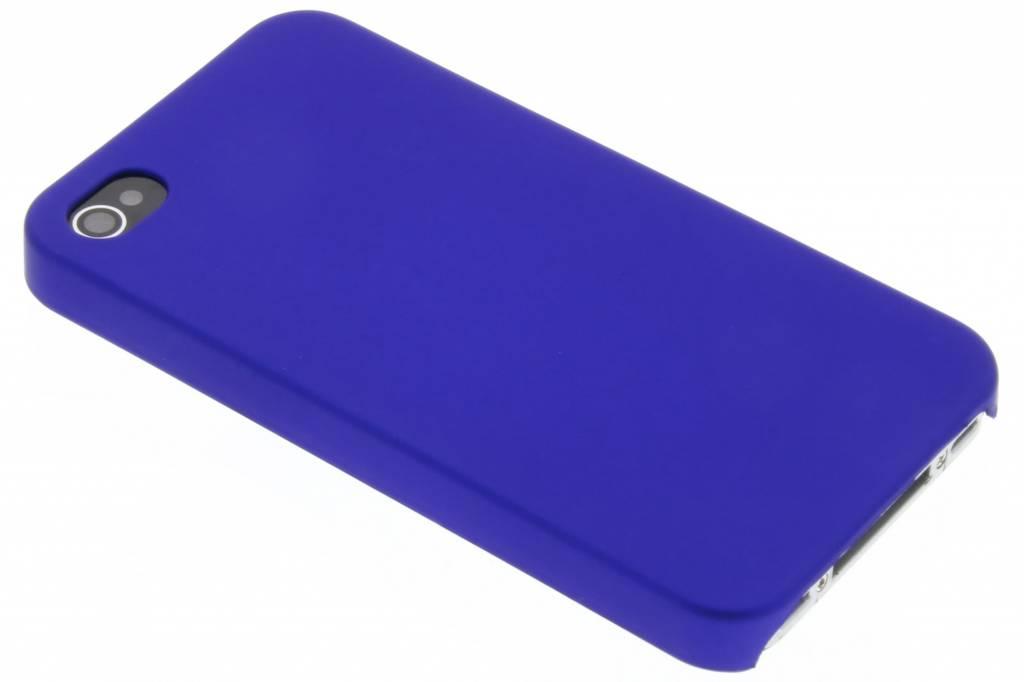 Blauwe effen hardcase voor de iPhone 4 / 4s