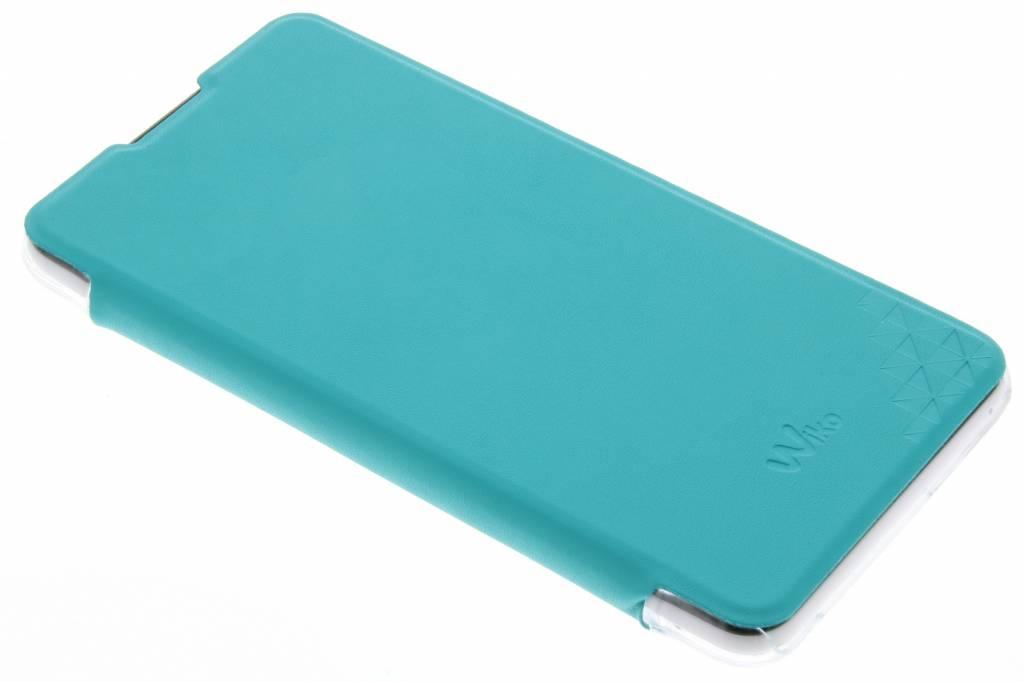 Wiko Diamonds Folio Case voor de Wiko Lenny 2 - Turquoise