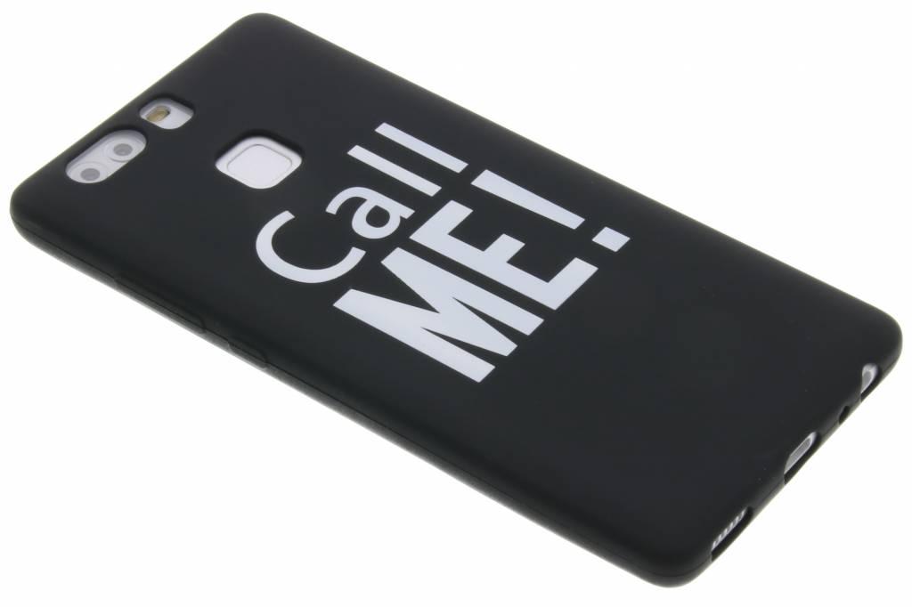 Call me! glow in the dark TPU case voor de Huawei P9