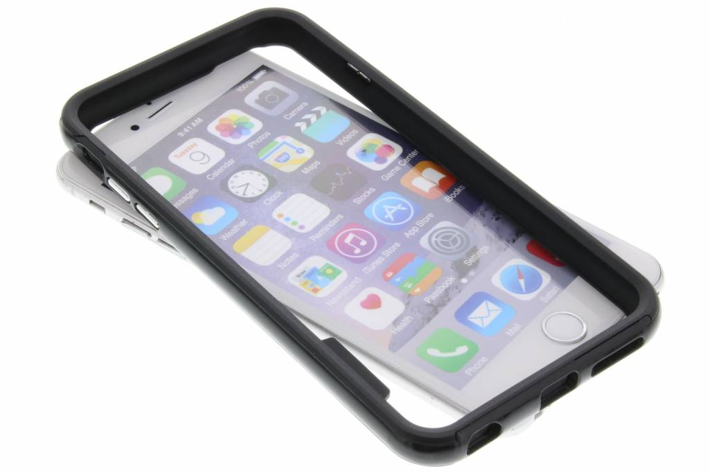 Zwarte bumper voor de iPhone 6(s) Plus
