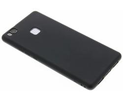 Zwart Color TPU hoesje Huawei P9 Lite