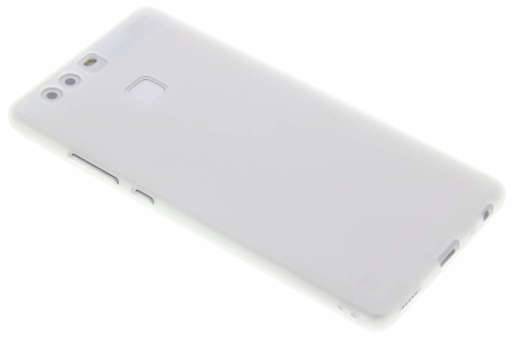 Wit Color TPU hoesje voor de Huawei P9