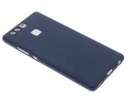 Donkerblauw Color TPU hoesje Huawei P9