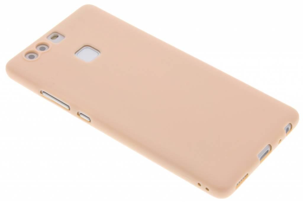 Poederroze Color TPU hoesje voor de Huawei P9