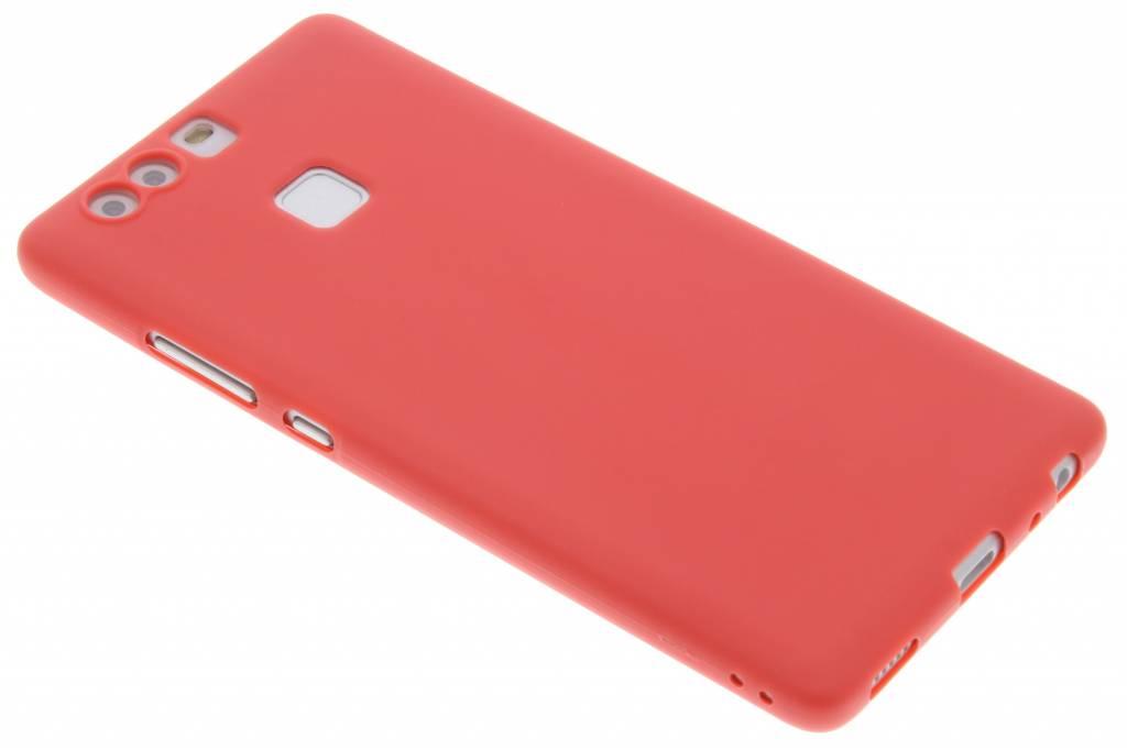 Rood Color TPU hoesje voor de Huawei P9