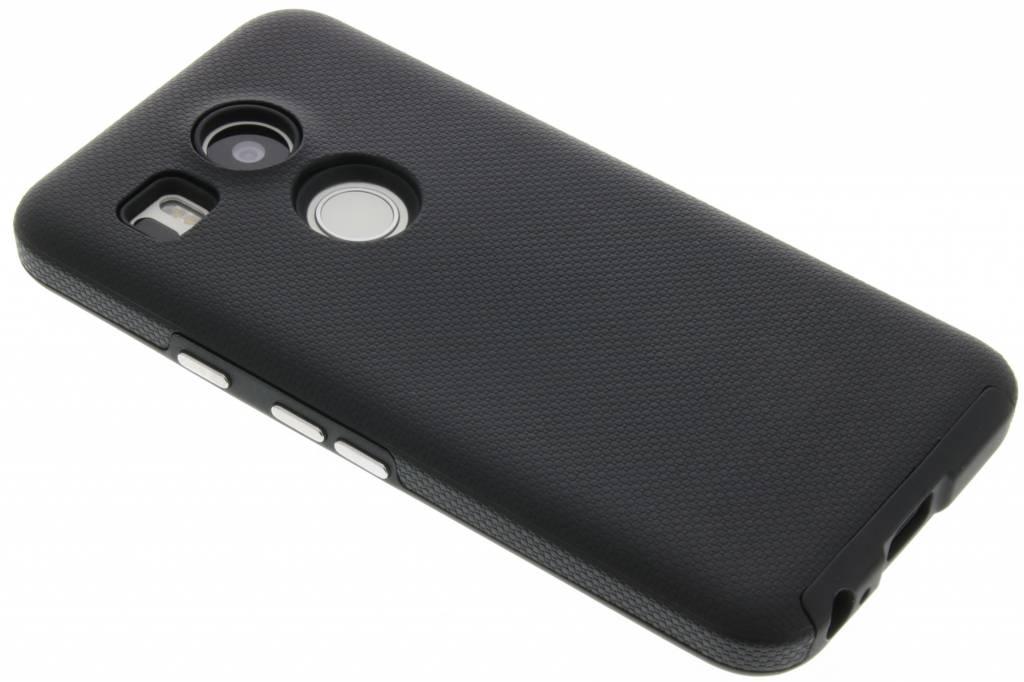 Zwarte rugged Case voor de LG Nexus 5X