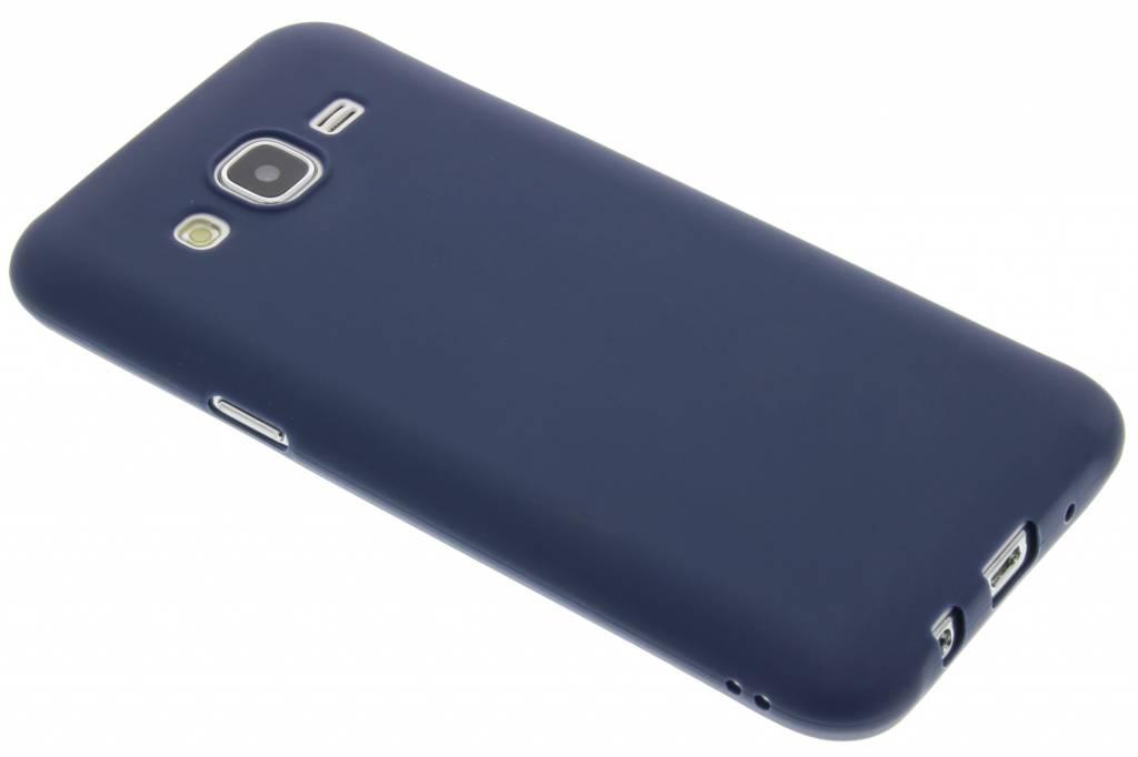 Donkerblauw Color TPU hoesje voor de Samsung Galaxy J5